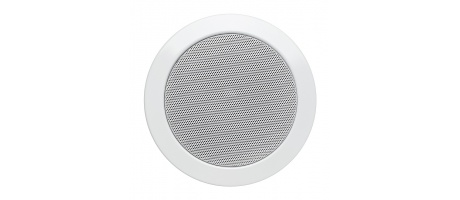 "RL-BT510 - Compact 4"" In-ceiling Flushmount Speakers (pair) with a Built-in 8W RMS per Channel Amplifier and Bluetooth receiver"