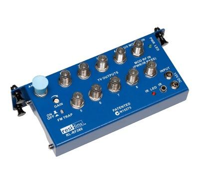 RL-RF380 RF Video Distribution Unit with IR control