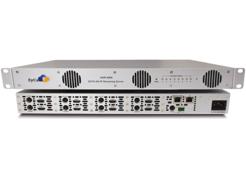 HDIP8000 - 8 INPUT HD IP STREAMING SERVER