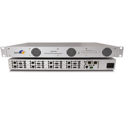 HD-IP8000 - 8 INPUT HD IP STREAMING SERVER