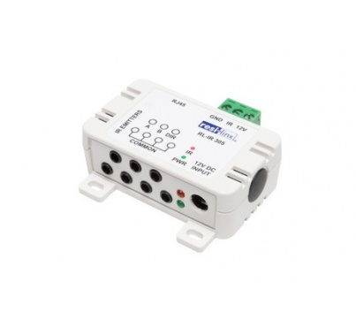 """RL-IR305 - """"Foxtel Approved"""" Compact IR Distribution Module  for use in resi-linx® NEW 'linx-IR' Patented Discrete IR System"""