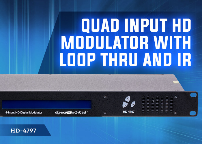 HD-4797 4 input HD mod with loop thru and IR
