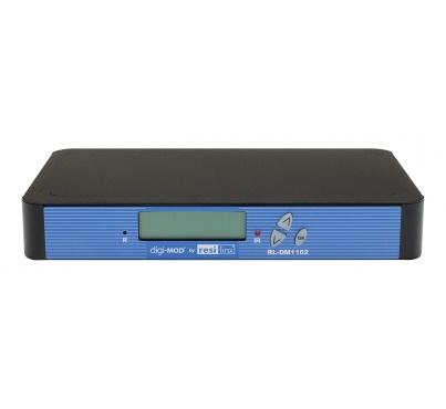 RL-DM1102M GD - Single Input SD Digital Modulator - now with Component  & Composite Video Inputs and IR Return Path