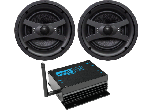 "RL-BT800 - 50W Bluetooth amp and 8"" ceiling speaker pack"