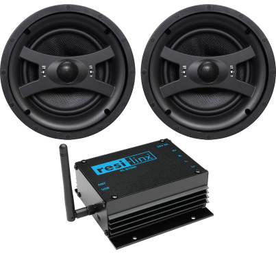 """RL-BT800 - 50W Bluetooth amp and 8"""" ceiling speaker pack"""