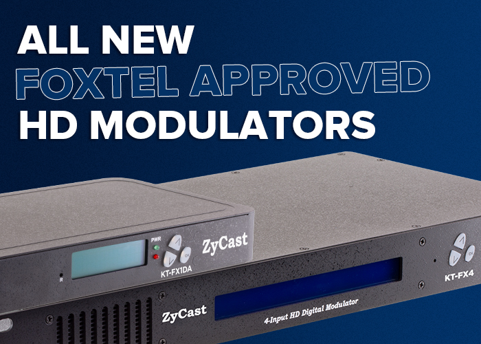 Foxtel Approved HD Modulators