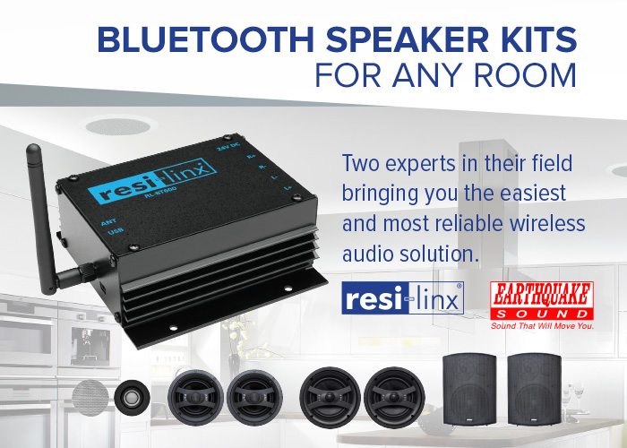 resi-linx Bluetooth amp and speaker packs